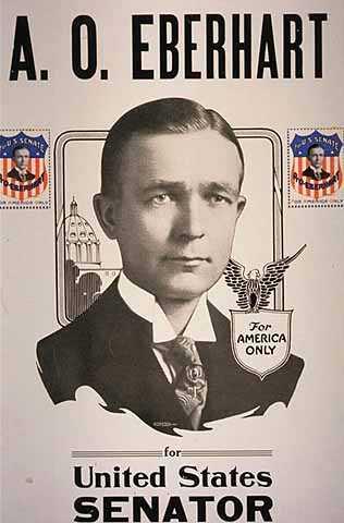 A. O. Eberhart for United States Senator