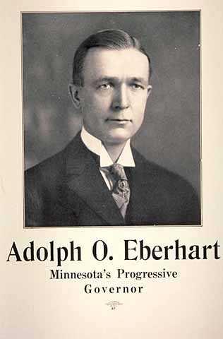 Adolph O. Eberhart, Minnesota's Progressive Governor