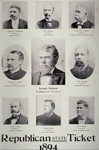 Republican State Ticket 1894