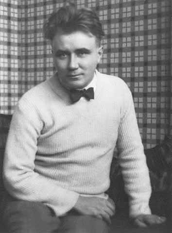 Black and white photograph of Adolf Dehn in Paris, c.1926.