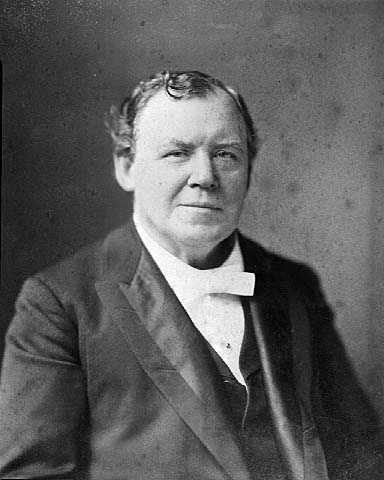 Black and white photograph of Ignatius Donnelly c.1898.