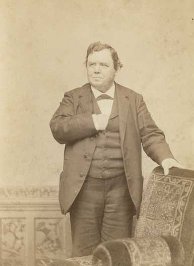 Black and white photograph of Ignatius Donnelly, c.1885.