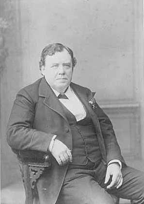 Black and white photograph of Ignatius Donnelly, 1888.