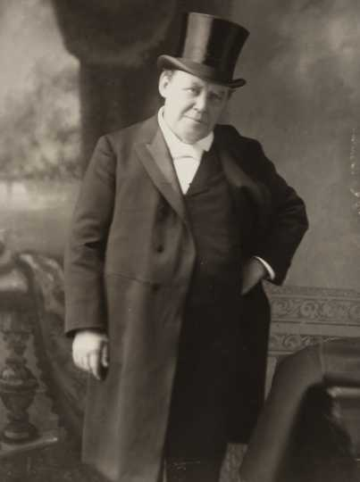 Black and white photograph of Ignatius Donnelly, 1898.