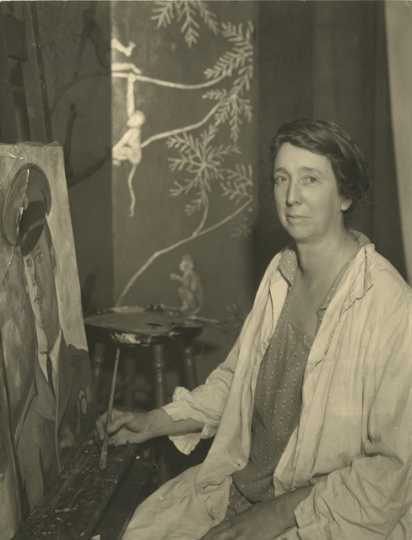 Black and white photograph of Clara Mairs, c.1930.