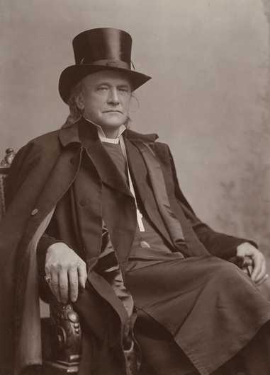 Black and white photograph of Bishop Henry Whipple, c.1898.