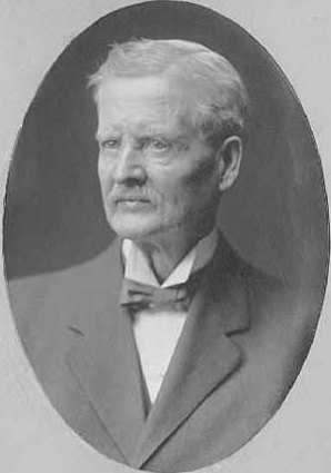 Black and white photograph of Dr. Albert Alonzo Ames, ca. 1905.