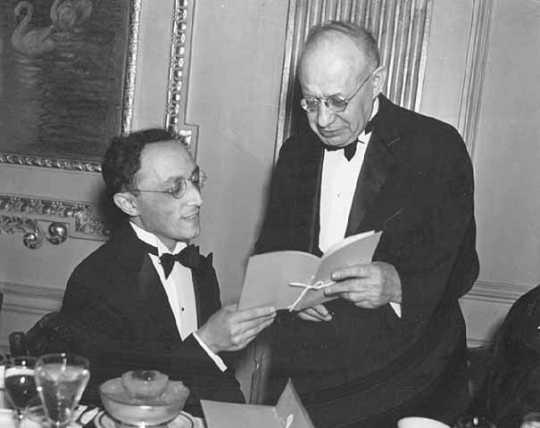 Black and white photograph of Rabbi David Aronson, 1936.