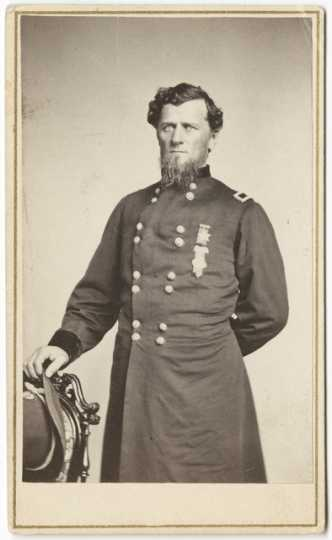 General William Gates LeDuc. Photograph by Whitney's Gallery, ca. 1865.