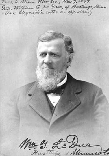 Signed photograph of William Gates LeDuc in Washington, DC, 1905.