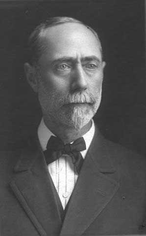 Black and white photograph of Grier M. Orr, ca. 1917.