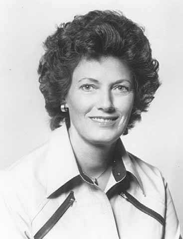 Black-and-white photograph of Lola Perpich, wife of Minnesota governor Rudy Perpich, c.1978.