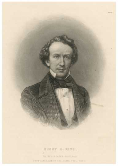 Henry M. Rice, 1860