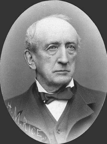 Henry Rice, ca. 1888