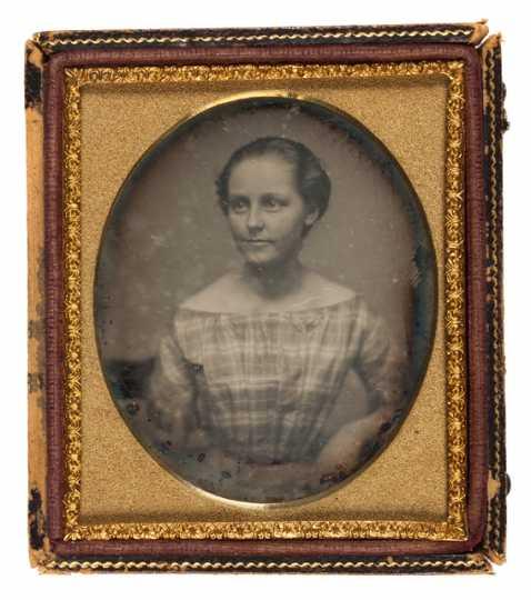 Daguerreotype of Mary Elizabeth Bronson