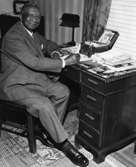 Black and white photograph of Frank Boyd, c.1951.