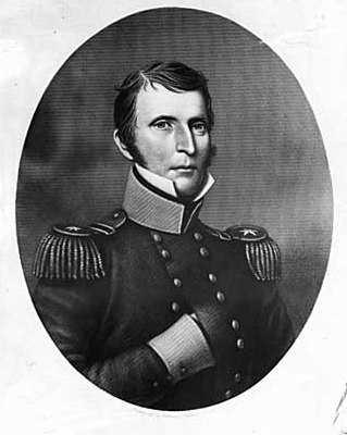 Black and white portrait of Lieutenant Colonel Henry Leavenworth, c.1820.