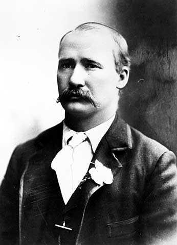 Black and white photograph of John E. Merritt, 1920.