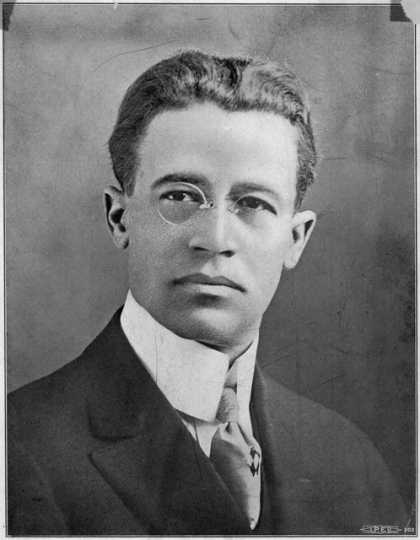 Black and white photograph of William T. Francis, ca. 1904.