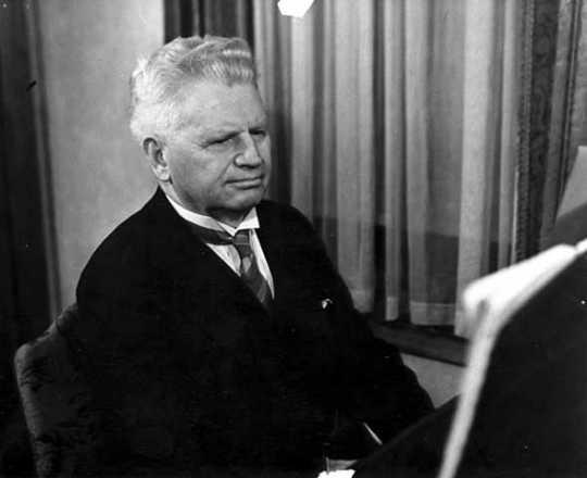 F. Melius Christiansen, ca. 1940.
