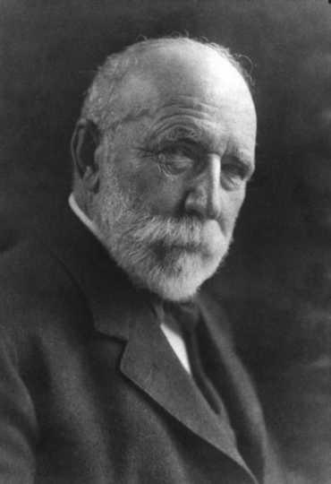 Black and white photograph of Frederick Weyerhaeuser, ca. 1900