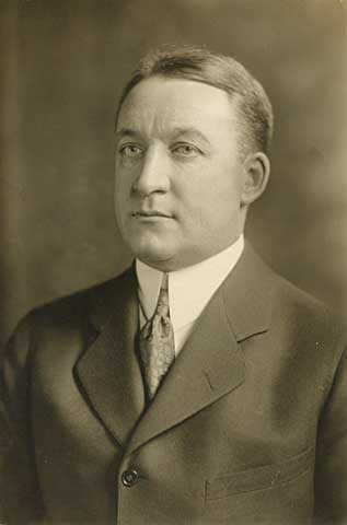 Black and white photograph of Theodore Wright Griggs, c.1925.