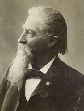 Black and white photograph of Wilhelm Pfaender, ca. 1900.