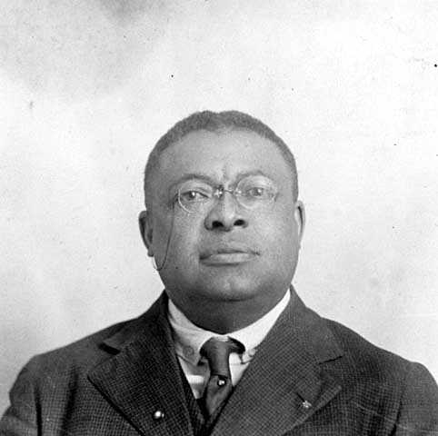 Black and white photograph of Orrington C. Hall, c.1920.