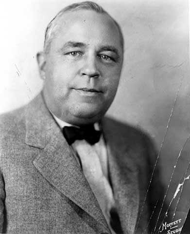 Black and white portrait of Wilbur Burton Foshay, 1929.