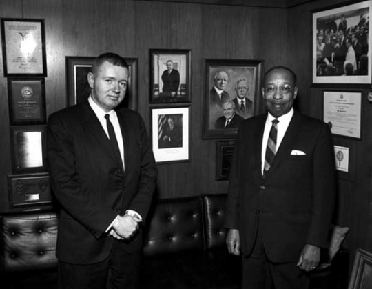 Harold W. Greenwood and Cecil Newman