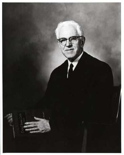 Dennis Donovan ca. 1950s. Donovan was the federal judge who presided at the Rudolph Mast trial. Photo by Kenneth Melvin Wright.