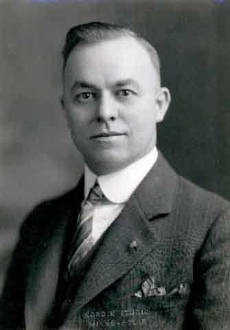 Dr. Russell Heim, 1934.