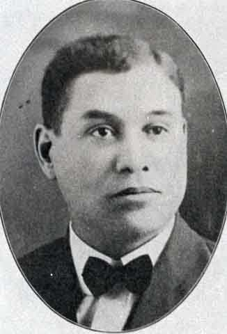 Black and white photograph of George L. Hoage, 1924.