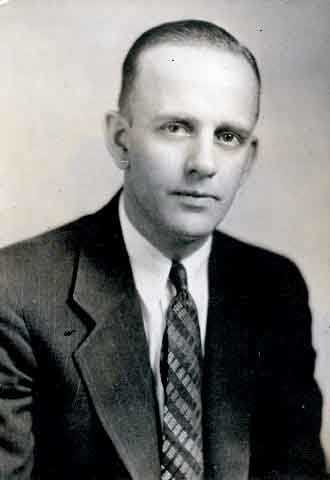 Black and white photograph of Stanley Hubbard, founder of KSTP-TV, 1930.