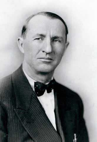 Black and white photograph of Arthur C. Townley, founder of the Nonpartisan League, c.1915.