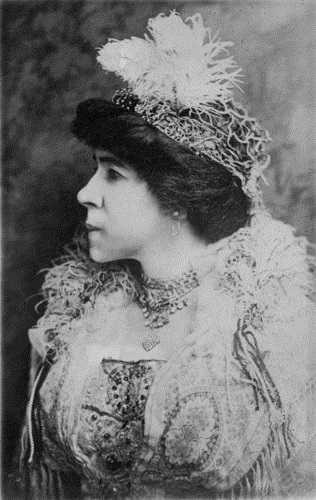 Black and white photograph of Amanda Lyles, ca. 1913.