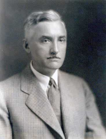 Black and white photograph of Magnus Jemne, husband of Elsa Laubach Jemne, c.1931.