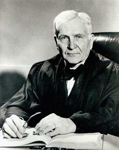 Portrait of Judge Gunnar Hans Nordbye, ca. 1950. Photo by Arthur B. Rugg, Minneapolis Star and Tribune Company.