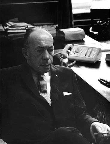 Portrait of Governor Karl Rolvaag, ca. 1965.