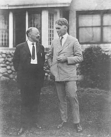 Henrik Shipstead with Magnus Johnson
