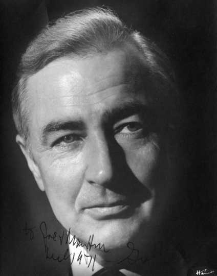 Black and white photograph of Eugene McCarthy, 1971. Photograph by Haines Photo Company.