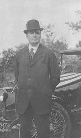 Black and white photograph of Governor Joseph Alfred Arner Burnquist, c.1916.