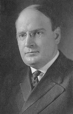 Black and white photograph of Joseph Alfred Arner Burnquist, ca. 1913.