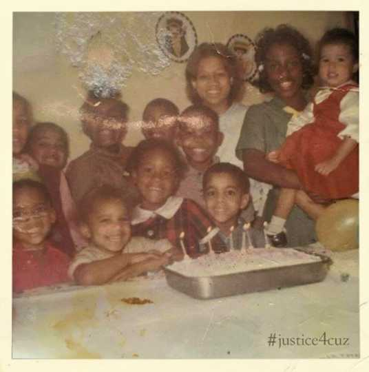 Prince at his sixth birthday party