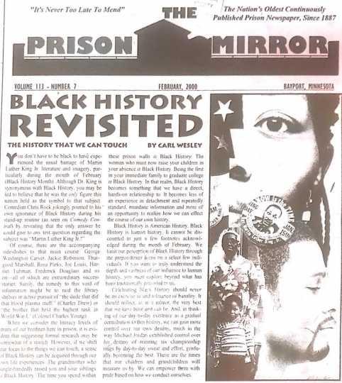 Cover of the Prison Mirror