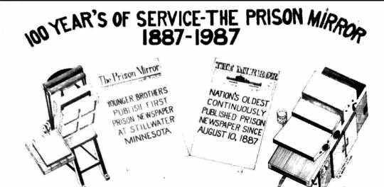 Image for the hundred-year-anniversary edition of the Prison Mirror