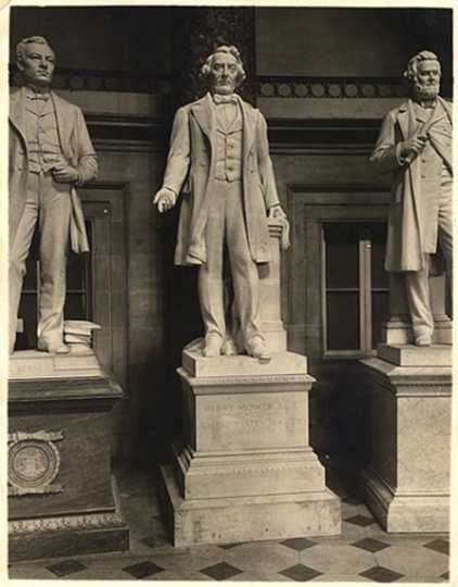 Statue of Henry M. Rice, U.S. Capitol