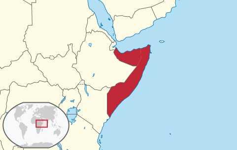 Map of Somalia