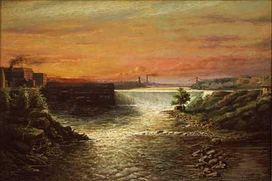 St. Anthony Falls and Suspension Bridge