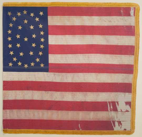 10th Minnesota national battle flag